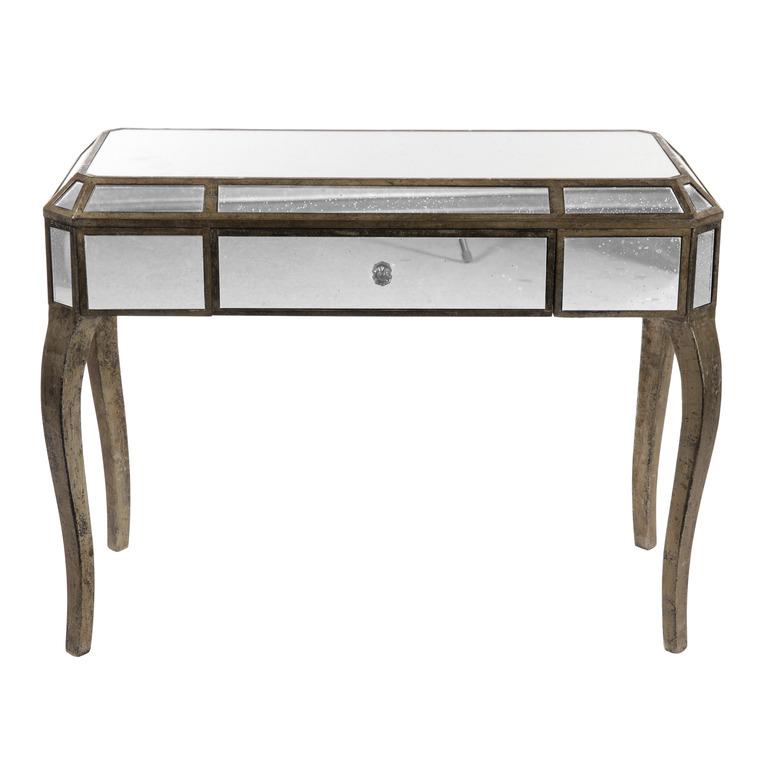 Bois miroir 25525 100 x 45 x - Miroir cote table ...